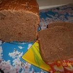 Шоколадный хлеб с изюмом