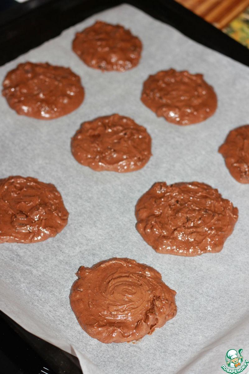 Печенье шоколадно-шоколадное