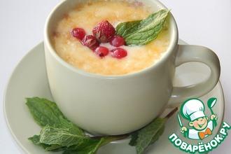 Рецепт: Десерт из замороженных ягод и сыра