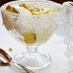 Мороженое с бородинским хлебом и кедровыми орешками