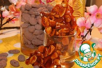 Рецепт: Миндаль в шоколаде и карамели