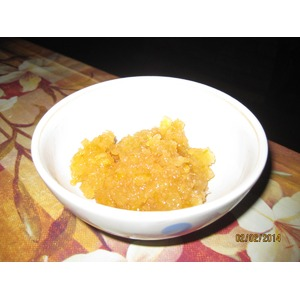 Десерт из имбиря