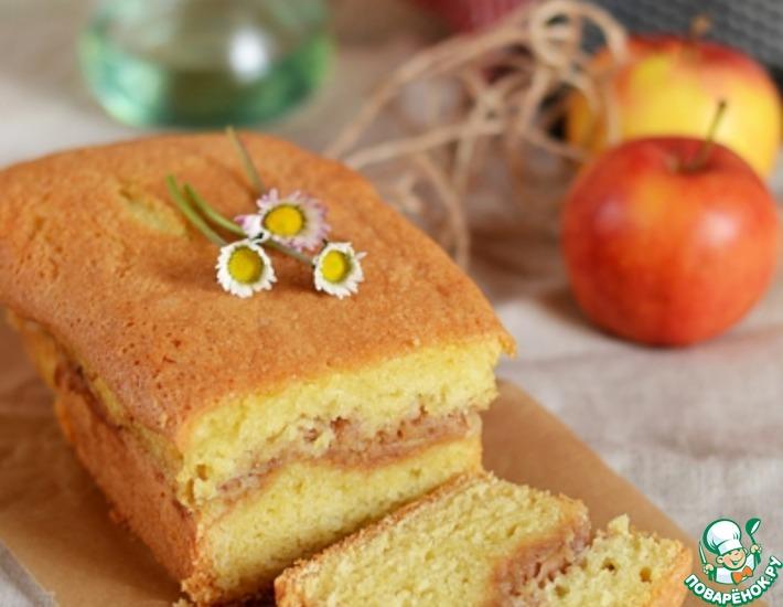 Рецепт: Яблочный пирог с корицей по-югославски