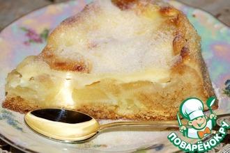 Рецепт: Яблочный пирог А-ля французский