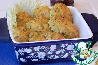 Рецепт: Печеные рыбные котлеты