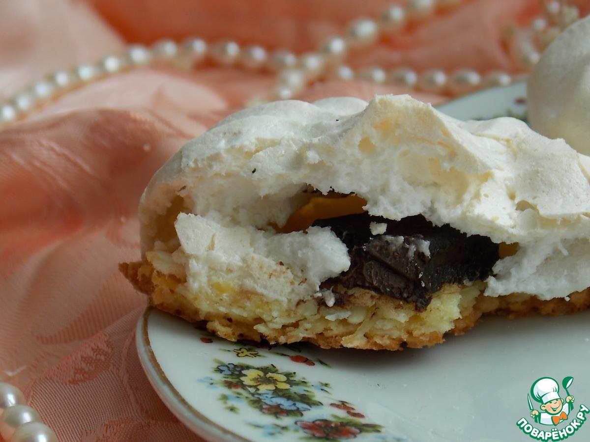 Кокосовое печенье в облаках