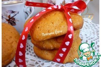 Рецепт: Томатное печенье «Утро в стиле любви»
