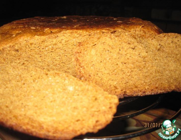 Рецепт: Ржаной хлеб на каждый день