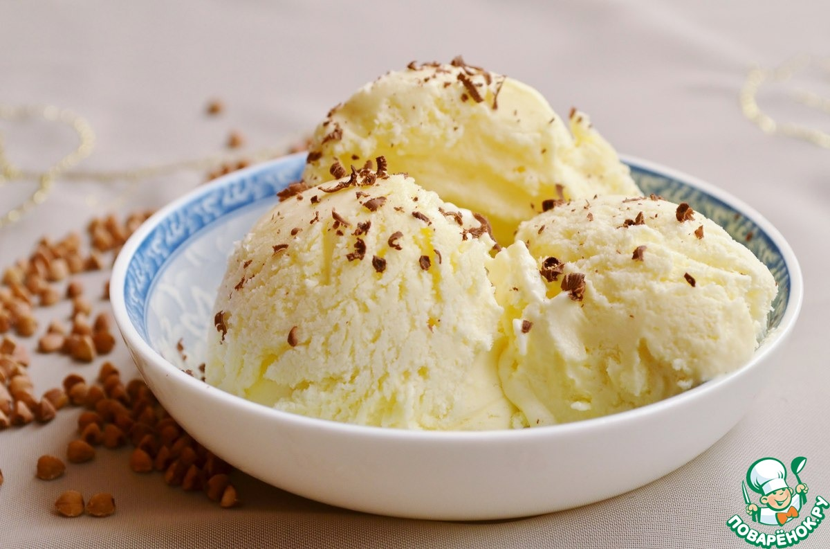 Мороженое из гречки