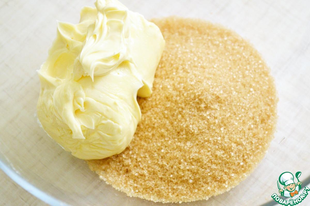 Печенье с кукурузной мукой и мятным ганашем