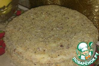 Рецепт: Торт Наполеон без выпечки