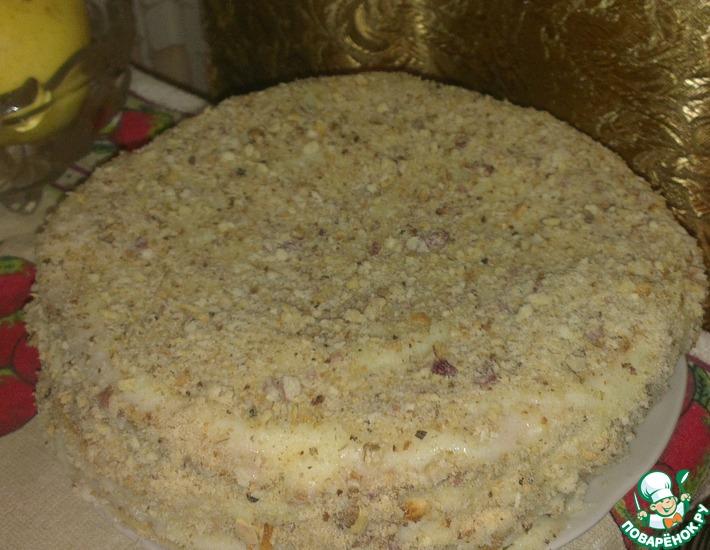 "Торт ""Наполеон"" без выпечки"
