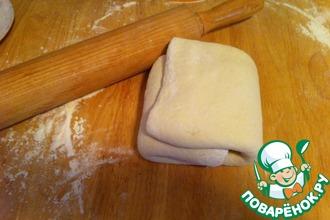 Рецепт: Бездрожжевое тесто на кефире