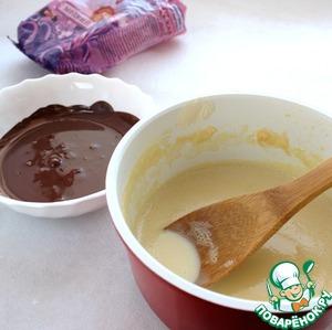 """Шоколадное мороженое """"Семифредо"""" – кулинарный рецепт"""