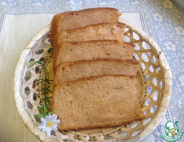 Рецепт: Хлеб гречневый с томатом Синьор Помидор