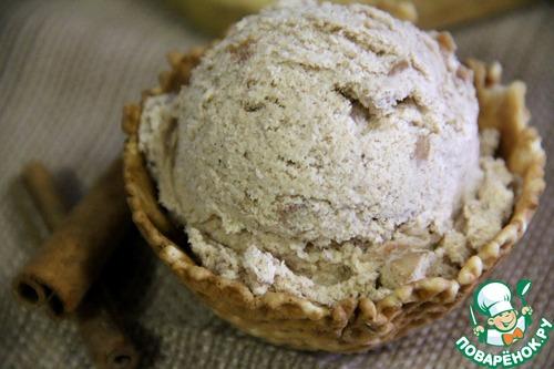 Яблочно-ванильное мороженое с корицей – кулинарный рецепт