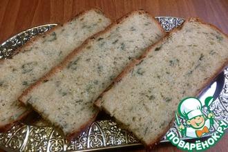 Рецепт: Хлеб из цельнозерновой муки Зеленая долина