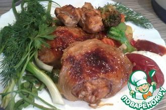 Рецепт: Шашлык из курицы Студенческий