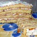 Творожный торт к завтраку