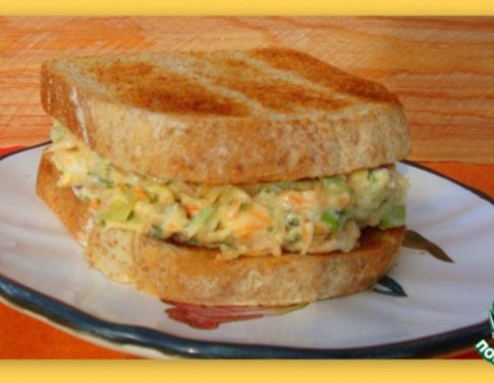 Рецепт: Тунцовый салат для сэндвичей