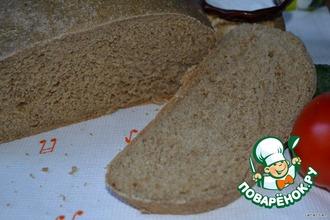 Рецепт: Хлеб пшенично-ржаной на каждый день