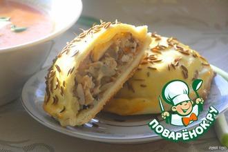 Рецепт: Пирожки к борщу