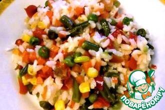 Рецепт: Плов овощной по-домашнему