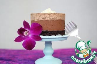 Рецепт: Пирожное Шоколадный Мусс
