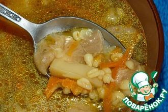 Рецепт: Грибной суп с булгуром в мультиварке