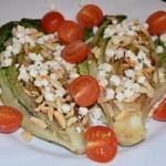Тёплый овощной салат