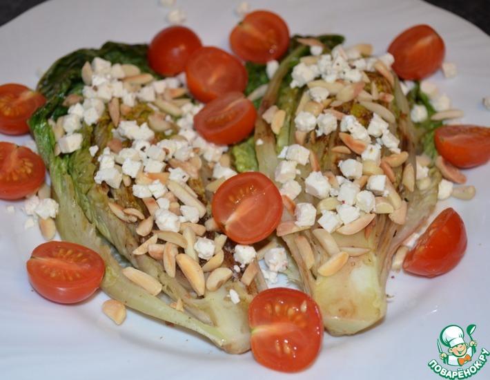 Рецепт: Тёплый овощной салат
