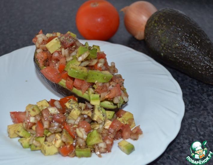 Рецепт: Салат из авокадо