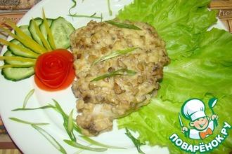 Рецепт: Рыба с грибами