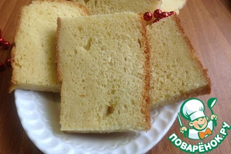 Рецепт: Хлеб из кукурузной муки Солнечный