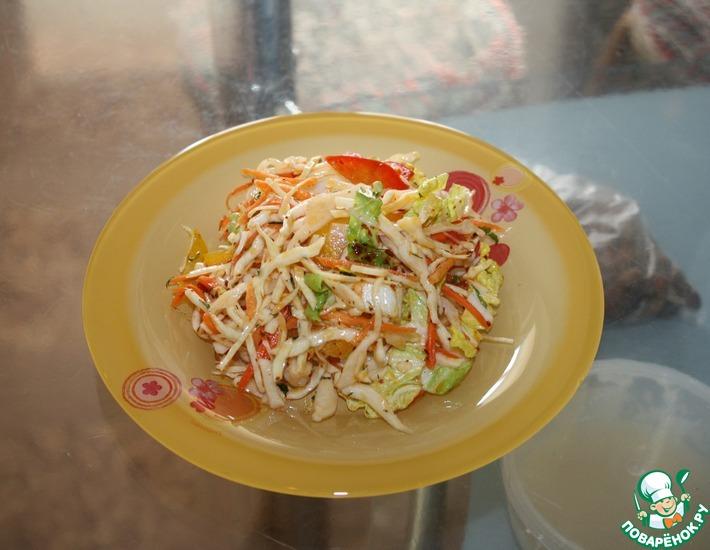 Рецепт: Овощной салат по-корейски