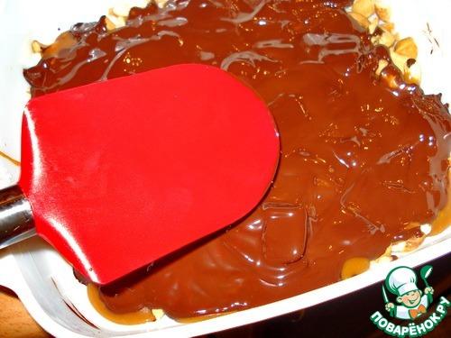 Кофейные ириски с орехами и шоколадом