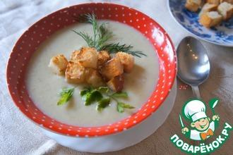 Рецепт: Суп-велюте из цветной капусты