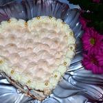 Торт с безе Признание в любви