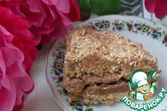 Рецепт: Торт из кунжутной меренги