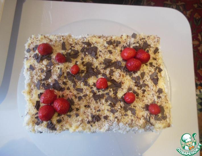 Рецепт: Торт Вкусняшка