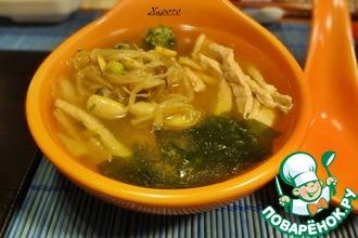 Рецепт: Суп Тануки дзиру