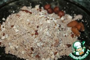 Орехово-ржаное печенье – кулинарный рецепт
