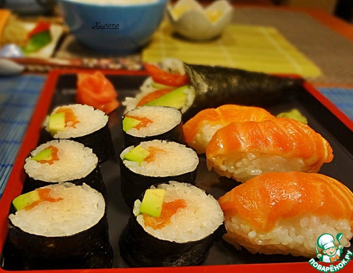 Рецепт: Японские суши