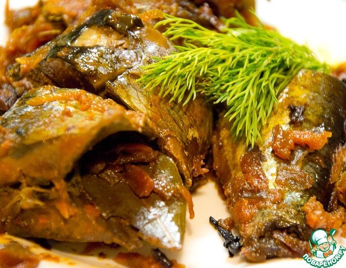 Рецепт: Рыба, томленная в томатном соке