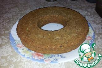 Рецепт: Ореховый бисквит