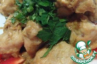 Рецепт: Куриное филе в Русском соусе