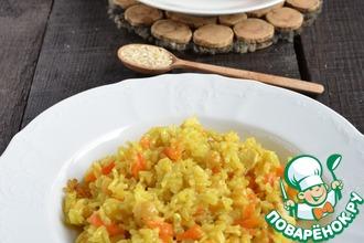 Рецепт: Плов из бурого риса