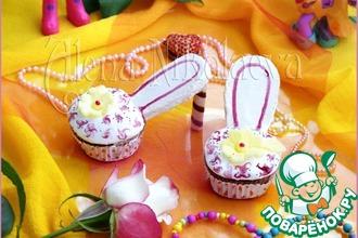 Рецепт: Капкейки Туфельки для маленькой принцессы