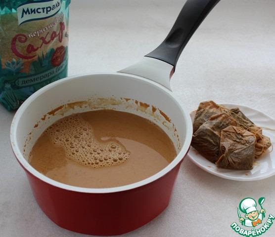 Чайный пудинг
