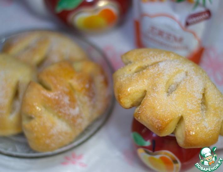 Рецепт: Фруктовые булочки